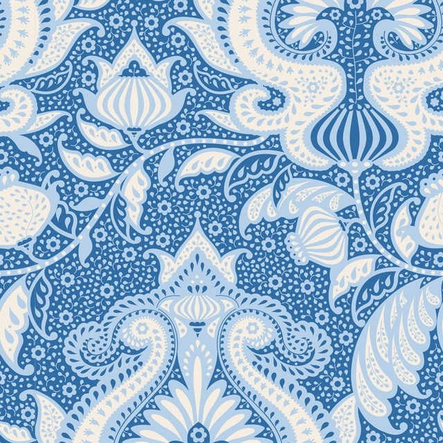 Tilda Sunkiss Ocean Flower Blue