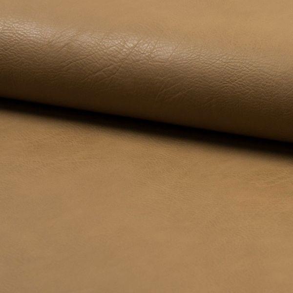 Kunstleder elastisch - taupe