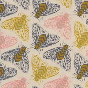 Patchworkstoff Cotton+Steel Bees Yellow