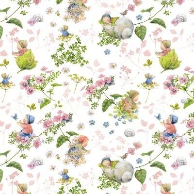Blütenbabies Baumwolle von Daniela Drescher