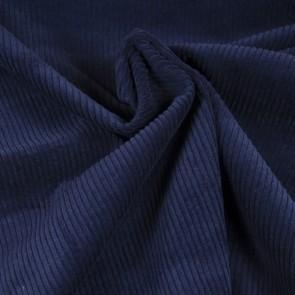 Cord dunkelblau Baumwolle