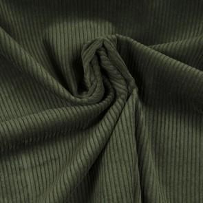 Cord dunkelgrün Baumwolle