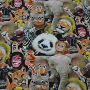 Patchworkstoff Funny Animals