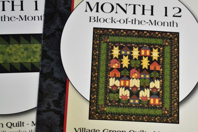 "Patchwork Kit "" Village Green"""