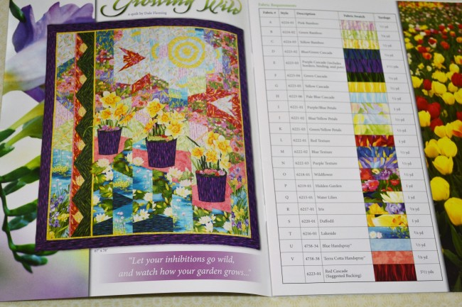 "Patchwork Kit "" Growing Wild"""