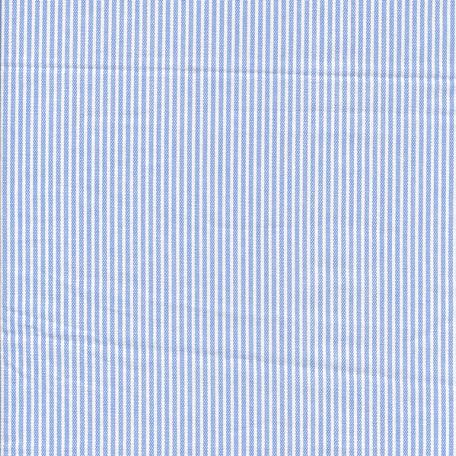 Beschichtete Baumwolle Streifen hell blau