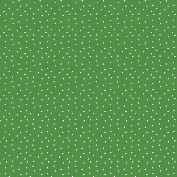 grüne Tupfen Baumwolle von Daniela Drescher
