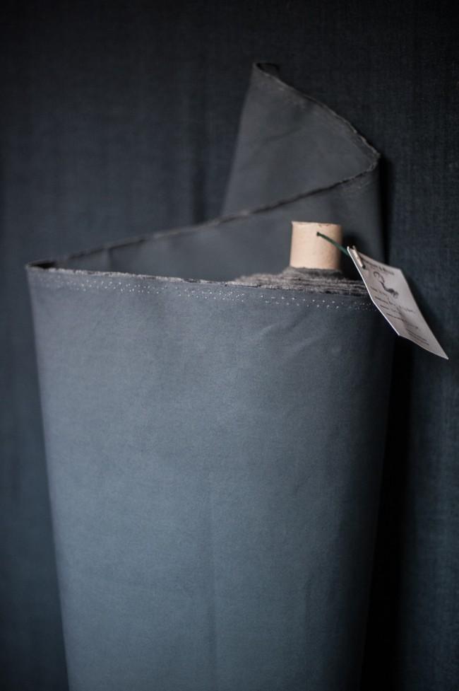 Dry Oilskin Grey Baumwolle