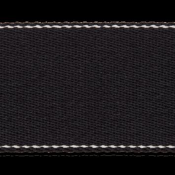 Gurtband 4 cm schwarz