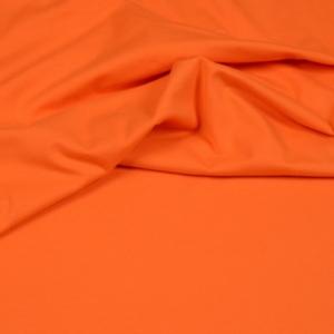 Baumwoll Jersey Uni orange