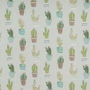 Clark und Clark Baumwoll Canvas/Möbelbezugstoff Kaktus