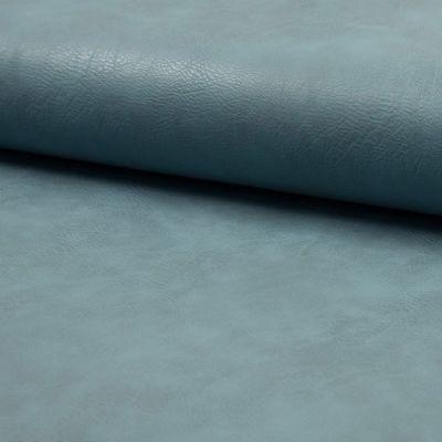 Kunstleder elastisch - hell blau