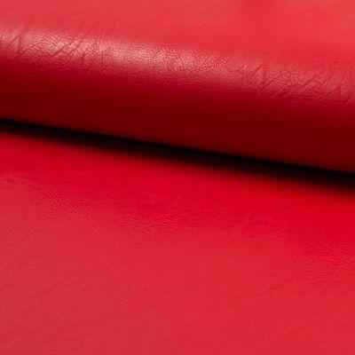 Kunstleder elastisch - rot