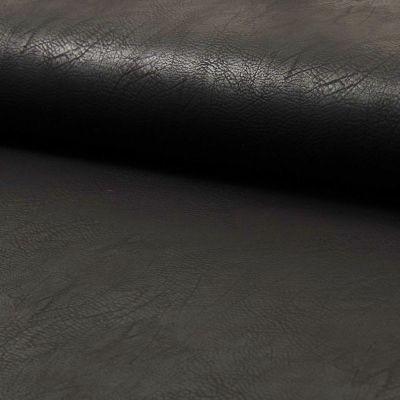 Kunstleder elastisch - schwarz