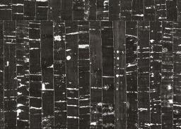 Korkstoff Schwarz mit silber klein 50cm x 35cm