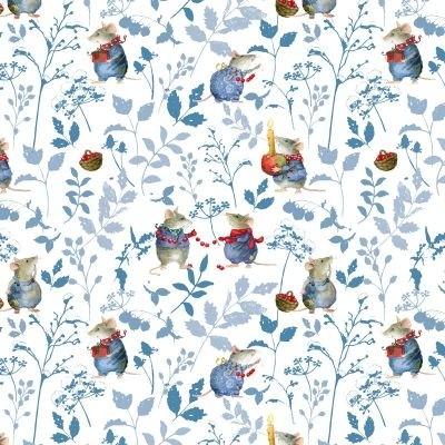 Mauseblau Jersey von Daniela Drescher
