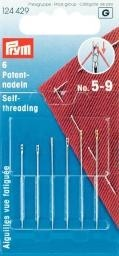 Patentnähnadeln ST 5-9 silberfarbig/goldfarbig