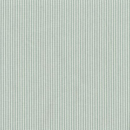 Beschichtete Baumwolle Streifen ice blau