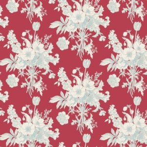 Tilda Cottage Collection Botanical Red