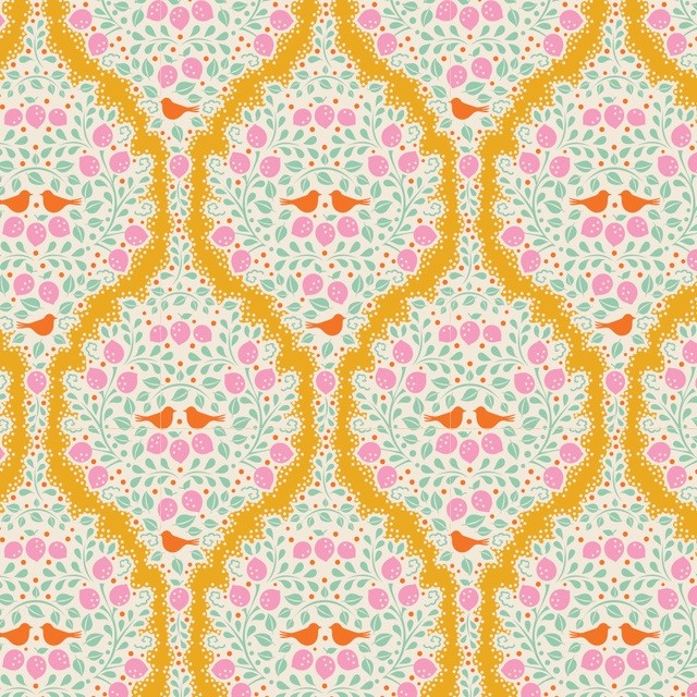 Tilda LemonTree Lemonade Yellow