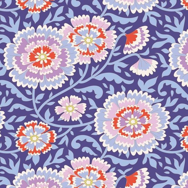 Tilda BirdPond Elodie Lilac Blue