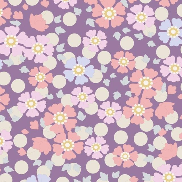Tilda PlumGarden Windflower Lavender