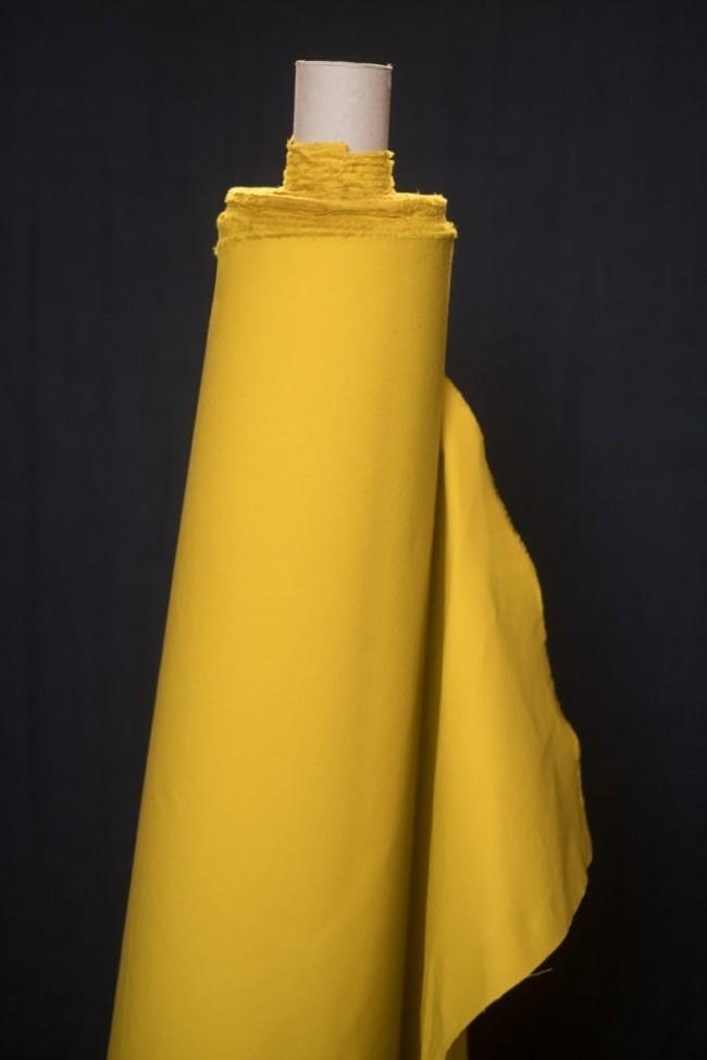 Dry Oilskin Yellow Baumwolle
